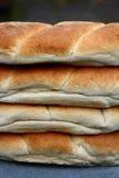 面包堆卷 免版税库存图片