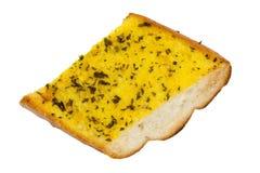 面包大蒜 库存照片