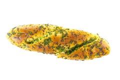 面包大蒜 免版税库存图片