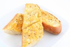 面包大蒜 库存图片