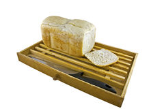 面包家查出做的白色 库存图片