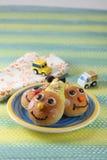 面包小丑 免版税库存照片