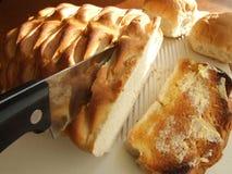 面包小圆面包多士 库存图片