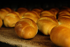 面包工厂生产 库存图片