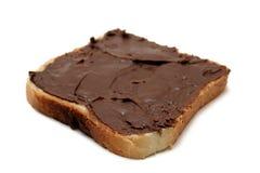 面包巧克力 免版税库存图片