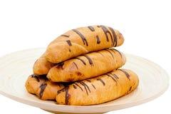 面包巧克力 库存图片