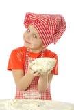 面包师一点 免版税库存照片