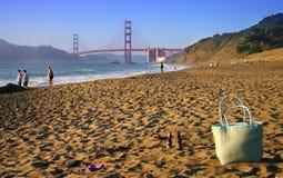面包师海滩弗朗西斯科・圣 库存照片
