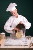 面包师碗刮 免版税库存照片