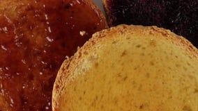 面包干用生物果酱 股票录像