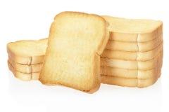 面包干面包 免版税库存照片