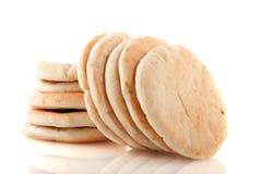 面包平面的pita 免版税图库摄影