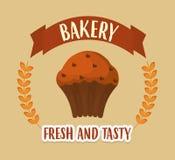 面包店产品设计 皇族释放例证