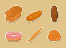 面包店产品设计 库存例证