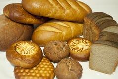 面包店产品 免版税库存照片