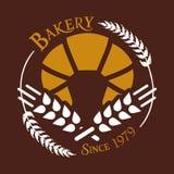 面包店从1979白色麦子传染媒介 库存图片