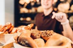 面包店分类 免版税图库摄影