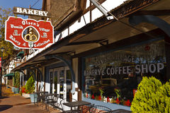 面包店加利福尼亚solvang 图库摄影