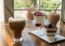 面包店和咖啡 免版税库存照片