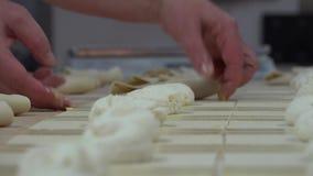 面包店和甜小圆面包 影视素材
