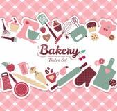 面包店和甜点 皇族释放例证