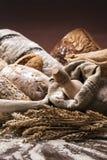 面包店和面包 免版税库存照片