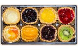 面包店混合果子 免版税库存图片