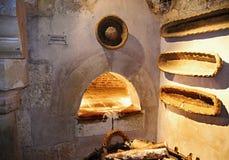 面包店的烤箱 图库摄影
