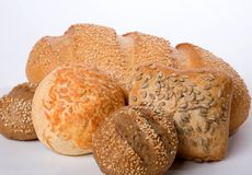 面包店粮食 库存图片