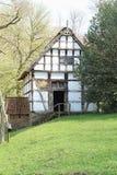 面包店粮仓, Freilichtmuseum Hessenpark 库存照片