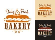 面包店设计 向量例证