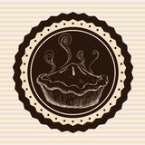 面包店设计 皇族释放例证