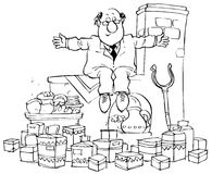 面包店贸易 免版税库存照片