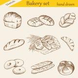面包店集 免版税库存照片