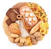 面包店面包产品 免版税库存图片