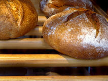 面包店面包法语巴黎 免版税库存照片