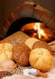面包店面包 免版税库存照片