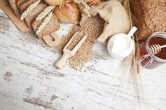 面包店面包 免版税库存图片