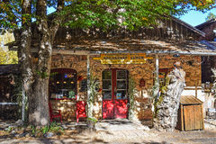 面包店,火山,加利福尼亚镇  免版税库存照片