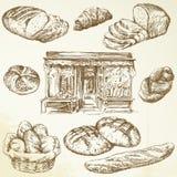 面包店 皇族释放例证