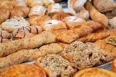 面包店produkts 免版税库存照片