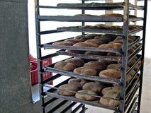 面包店tradicional盘 库存照片