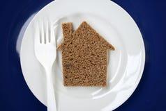 面包房子 免版税库存照片