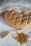 面包拼写传统 库存照片
