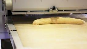 面包接近的和面 股票视频