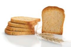 面包敬酒了 免版税库存图片