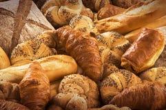 面包新酥皮点心种类 免版税库存图片