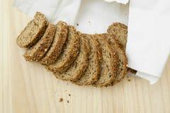 面包新鲜查出的鲜美 免版税库存照片