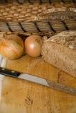 面包新鲜的快餐 图库摄影