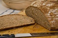 面包新鲜的快餐 库存照片